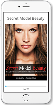 Secret Model Beauty on iPhone 6 at the iBooks store.